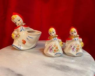 Hull Red Riding Hood Vintage Cookie Jar