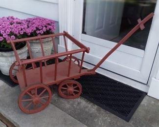 Hand made market wagon, kids wagon, dog or cat wagon,