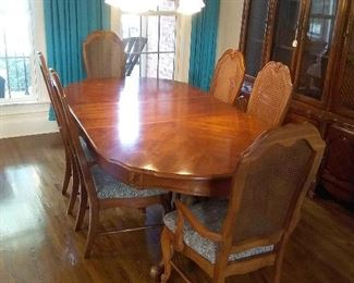 1Dining Room Table 6 Chairs