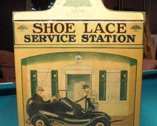 shoe lace cabinet