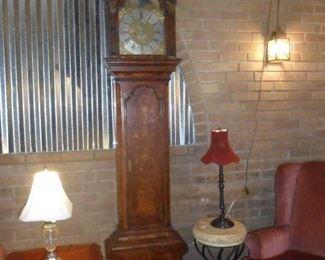 18th Century Robrucefix London Grandfather Clock