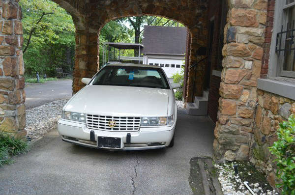 1996 Cadillac - owned  by the late Mrs. Patti Shepherd