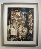 "William Millarc (1920 - 1957) 'Self Portrait', (29"" x 23.5"") oil on canvas; Exhibited: 'Memorial Exhibition', Pasadena Museum of Art, June-July 1959"