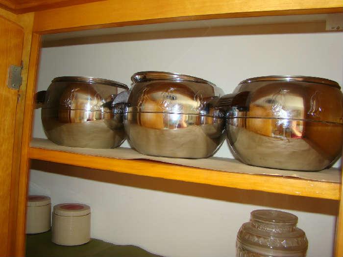 3 Penguin Ice Buckets