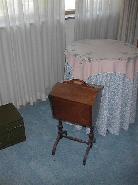 Vintage Sewing box.