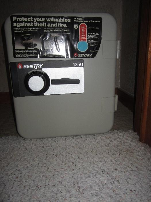 Sentry 1250 Fireproof Floor Safe
