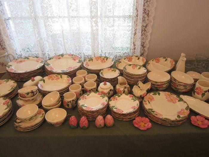 Desert Rose Dishes, Mostly USA Back Stamped, Some Made In England