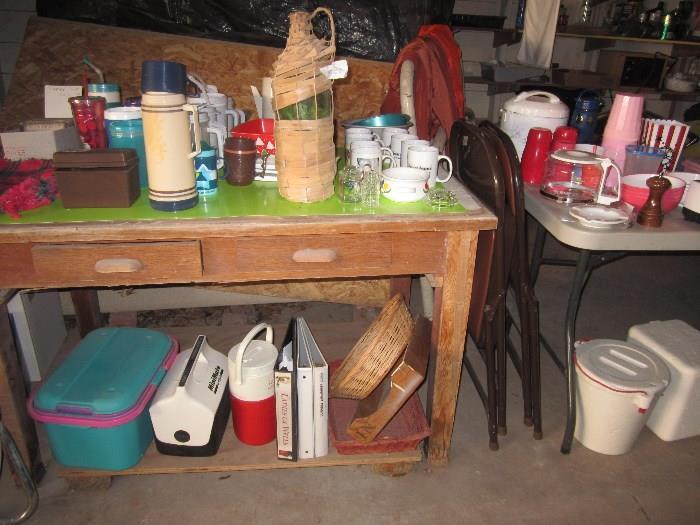 Desk, Miscellaneous Garage