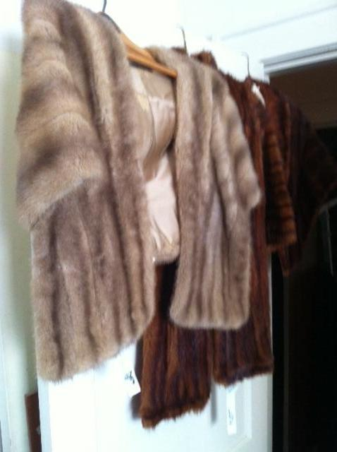 there are several more vintage furs