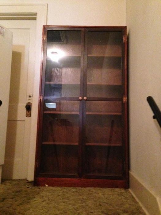 a handmade cabinet