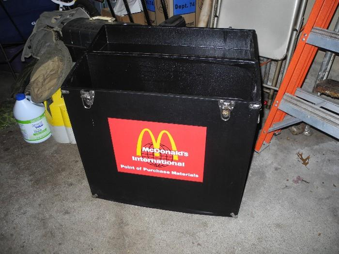 There are several of these which the artist was given  to carry the work done for McDonald's Corp.