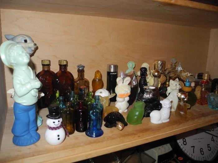 Avon collectible bottles