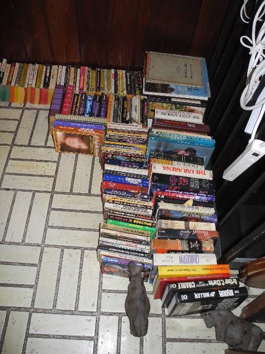 More books of course!
