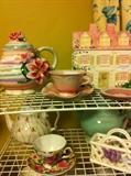 tea pots and cups & saucers