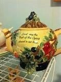 """fruit of the Spirit"" teapot"