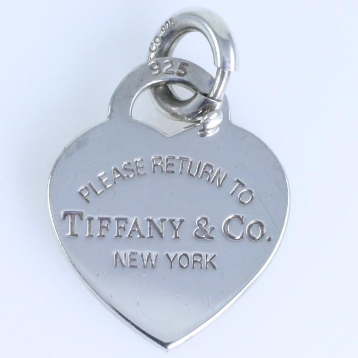 4db94b2d0 Authentic estate Tiffany & Co. sterling silver heart pendant from the