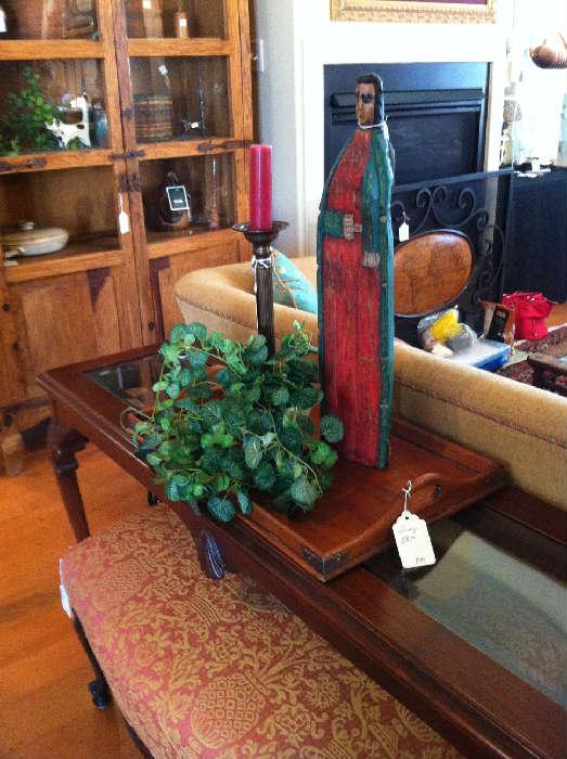 sofa table & ottoman