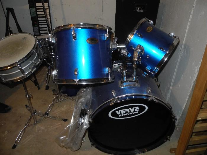 Verve set of drums