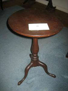 Antique Round Candle Stand