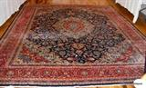 Mashad  Persian 12 x 12 Floor Rug  beautiful, the light is from camera not the rug