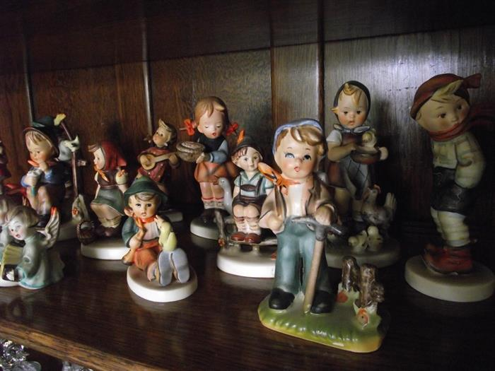 Selection Hummel Figurines