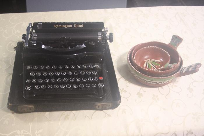 Remington Rand Model 1 with original case.