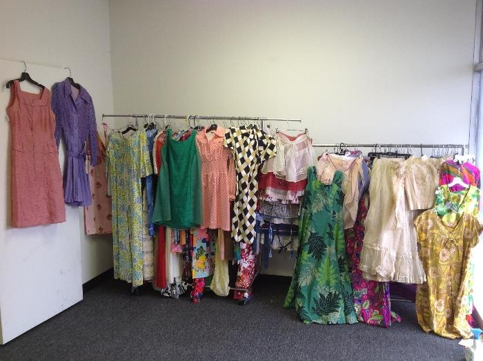 Vintage clothing galore