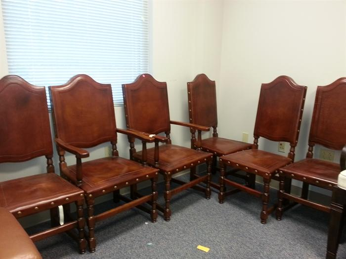 Australian outback leather chairs
