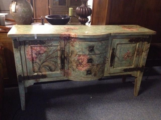 My personal favorite in the building!! beautifully  painted buffet