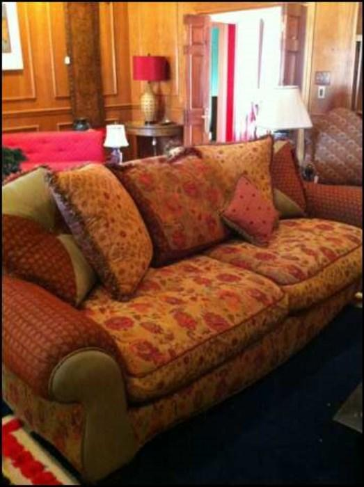 exceptional over-stuffed sofa