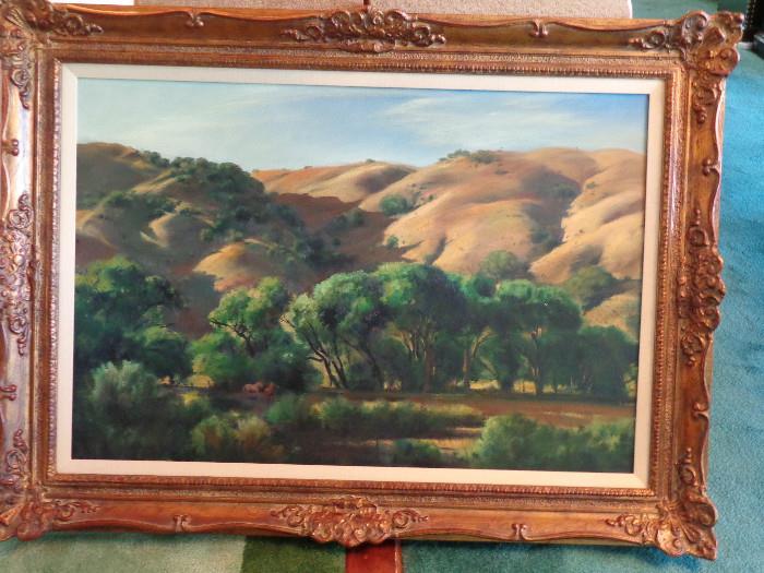 Emil Kosa JR. oil  26x40