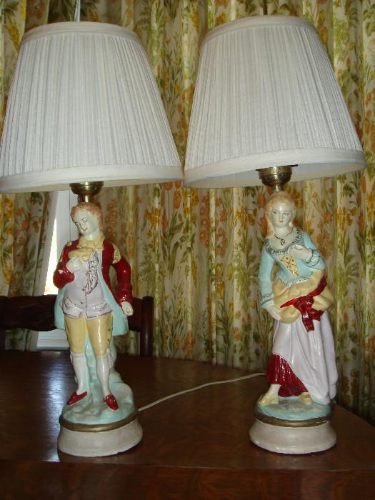 vintage antique lamps