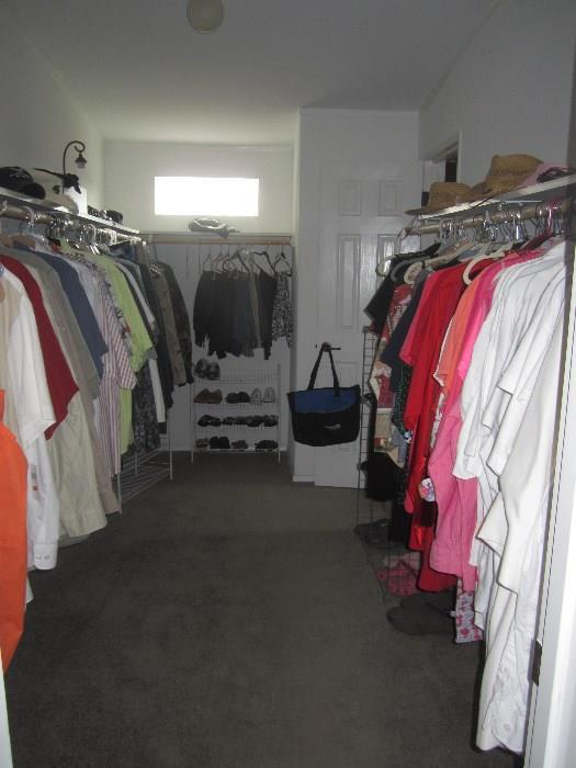 Women's Clothing Size L-2X, Men's Size Lrg to XL