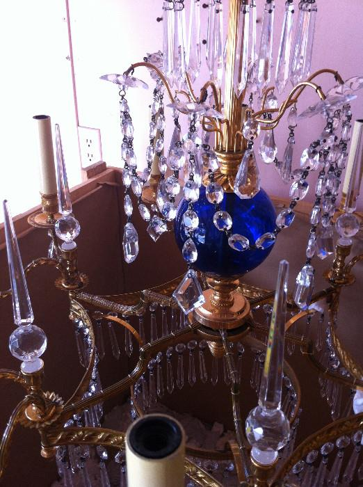 1 of 2 exquisite Chelsea House chandeliers