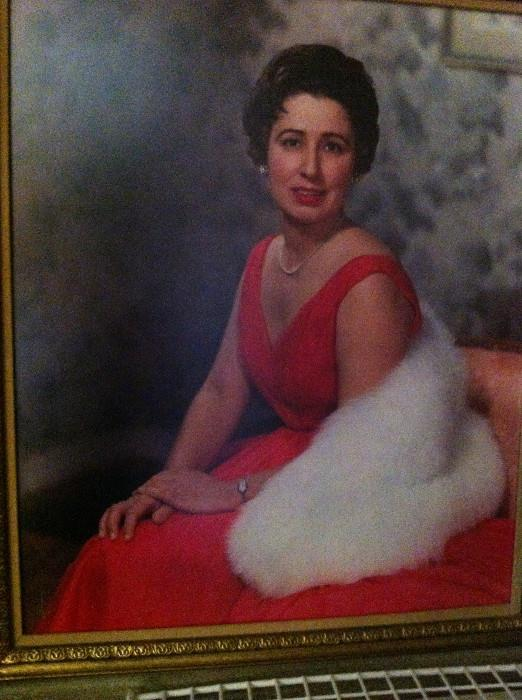 Mrs. Adeline Francis, the former owner & operator of Automatic Gas Co. (Portrait is not for sale.) & Pittman's Furniture Co.