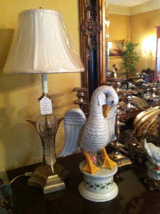 1 of many lamps, mirrors, and other decorative items