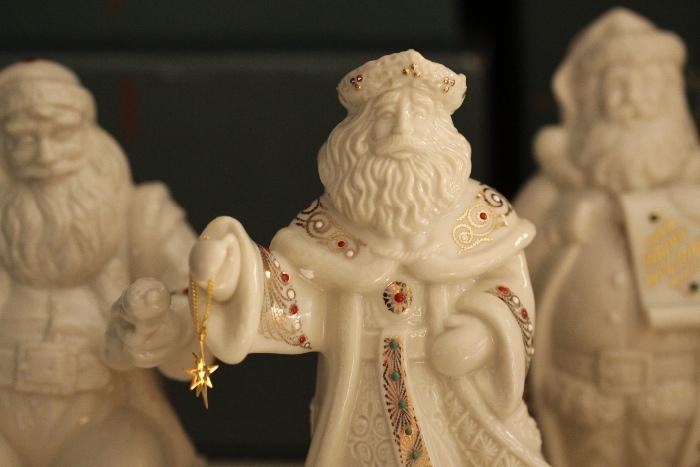 Lenox Santa.