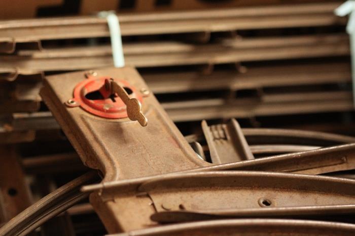 old train tracks