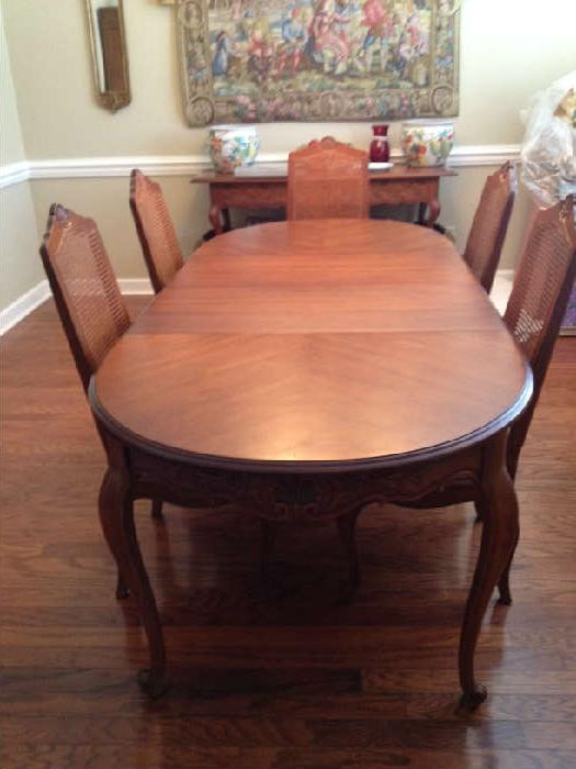 Drexel french country dining table