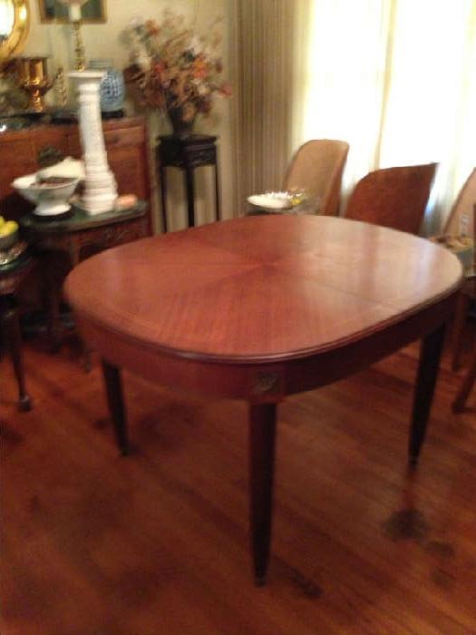 Italian Inlay dining table