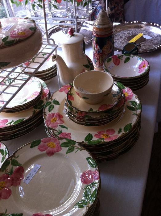 Desert Rose pottery