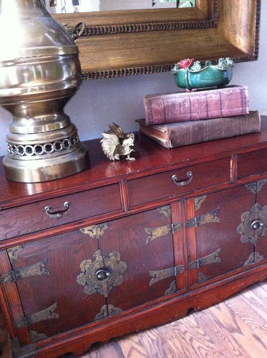 Decorative Asian chest