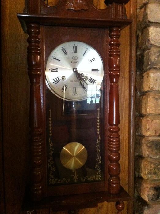 """Glory"" wall clock"