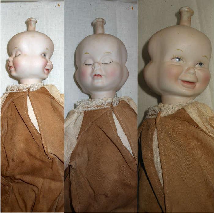 Three Faced Doll