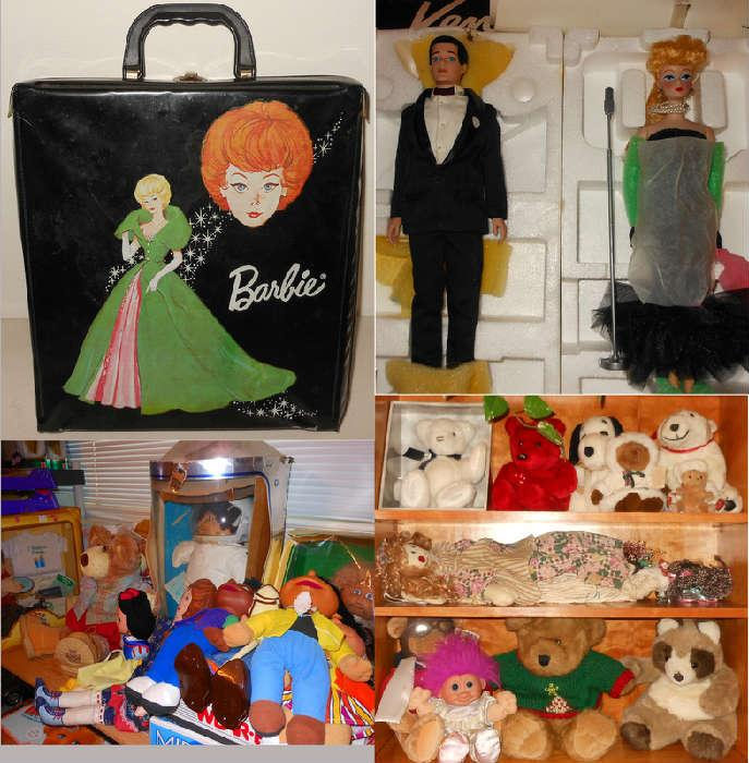 More Barbies, Cabbage Patch Dolls and Collectible Soft Toys
