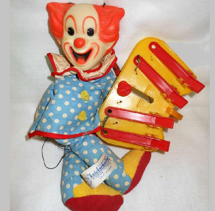 Joy of a Toy Knickerbocker Clown Marionette by the Knickerbocker Toy Company