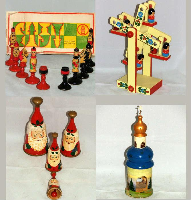 Painted Russian Toys and Game