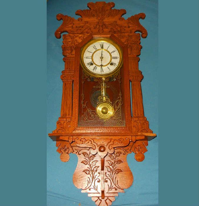 Running Waterbury Clock