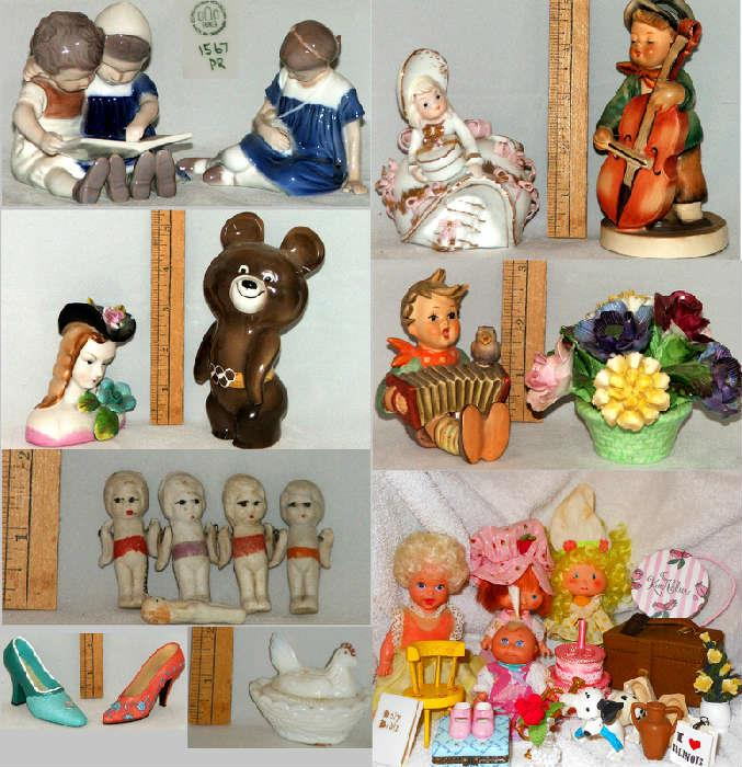 Dolls Dolls Dolls! Hummels, Tiny Dolls and much more
