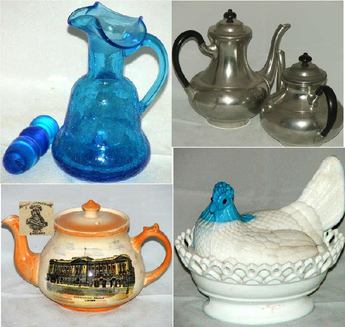 Glass and Ceramics and Pots